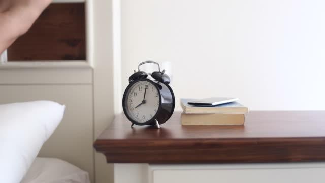Man and an Alarm Clock video