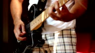 Man and guitar video