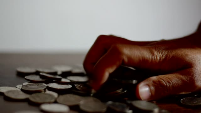 Man bring out coins video