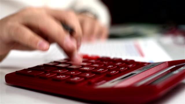Man Calculate Income video