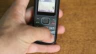 HD: Man Calling 999 United Kingdom Emergency Number video