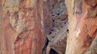HD man climbing Smith Rock Oregon video