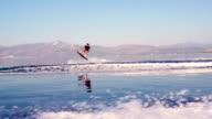Man Doing Water Ski Tricks video