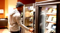 Man getting upset at Vending Machine video