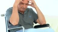 Man in a wheelchair video
