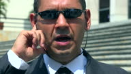 Man in Business Suit, CIA, FBI Agent video