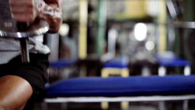 Man in Gym video