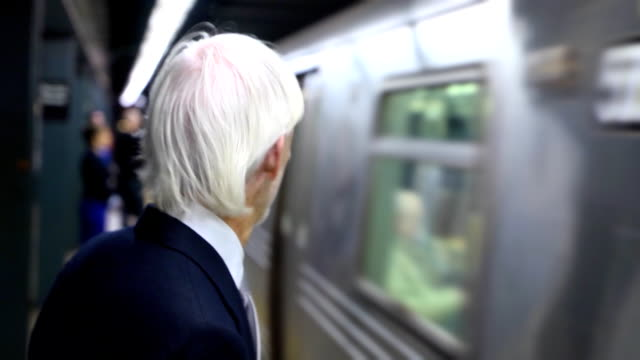 Man in Subway Station video