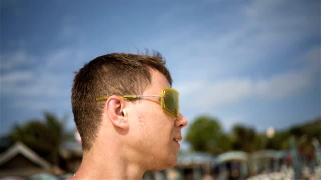 Man In Yellow Sunglasses video