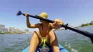 POV Man Kayaking video