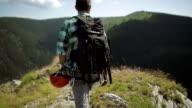 Man mountain Hiker video