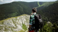 Man mountain Hiker video