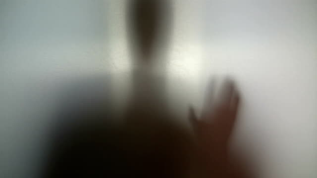 Man needs help, drug addiction, supernatural creature silhouette video