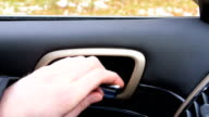 Man opens then closes the driver door video