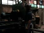 Man Operates Machine 1 video