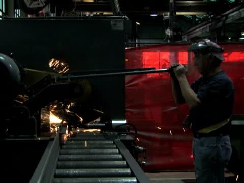 Man Operates Machine 2 video
