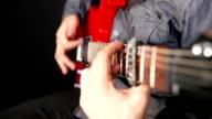 Man Playing Electrical Guitar 2 video