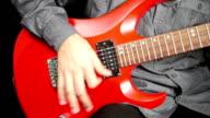 Man Playing Electrical Guitar video