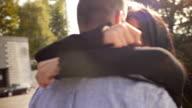 Man proposing to a woman video