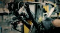 Man repairing bike video