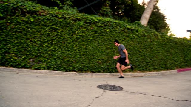 Man Running Slow-Motion video