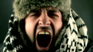 Man Screaming video