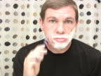 Man Shaving video