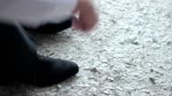 man shoes video