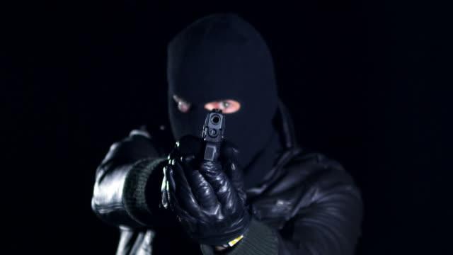 Man shooting with gun video