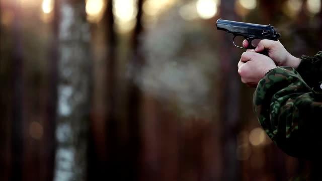 Man shot with a gun video
