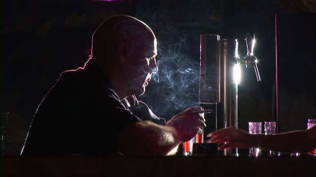 HD: Man Smoking video