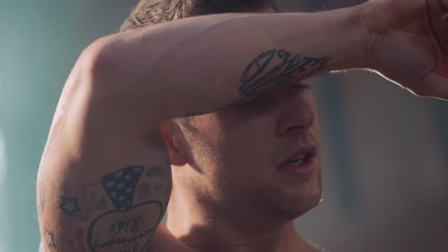 Man sweating video