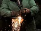 Man Using Blowtorch 1 video