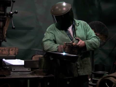 Man Using Blowtorch 2 video