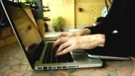 Man Using Laptop video