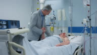 DS Man visiting father in the intensive care video