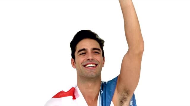 Man waving his hand video
