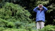 Man with Binoculars video