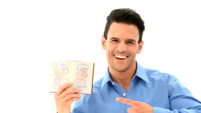 Man with Passport video