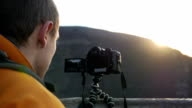 Man with the camera video