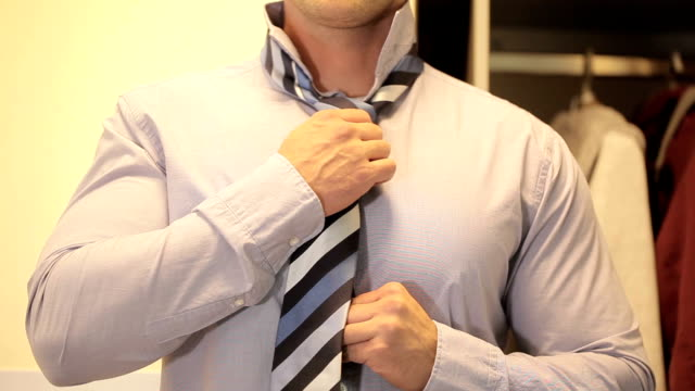 Man with tie video