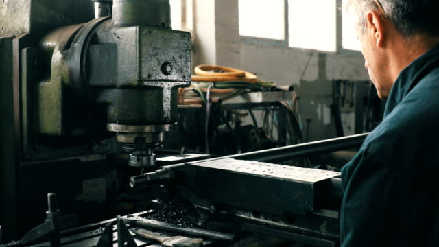 Man working in production video