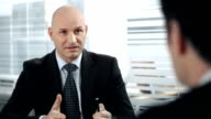 HD: Manager Talking With Business Partner video