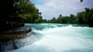 Manavgat waterfall near Side, Turkey video