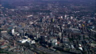 Manchester  - Aerial View - England, Manchester, United Kingdom video
