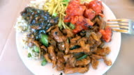Manchurian recipe cooked in a little cafe South of India video
