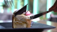mango and passion fruit mousse cake video