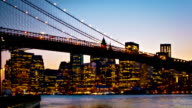 Manhattan and Brooklyn bridge video