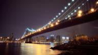 Manhattan and Brooklyn Bridge wild video