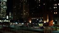 Manhattan at night video